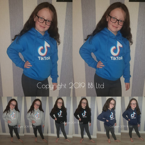 Kids Unisex TikTok hoody - 4 colours