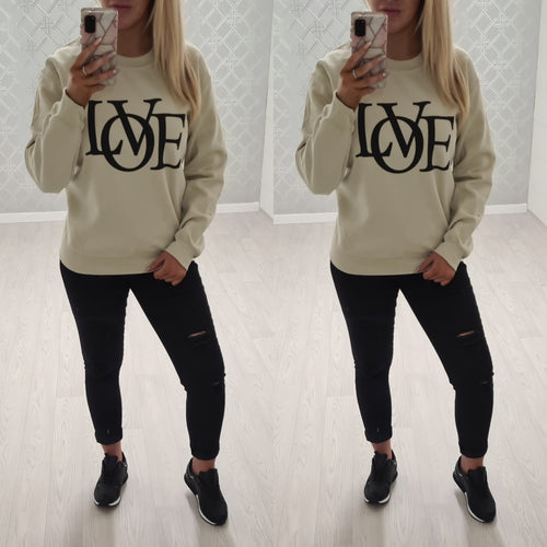 LOVE Sweater - 4 colours