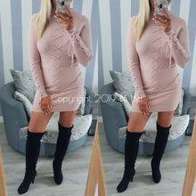 Lace Up Jumper Dress - 5 colours