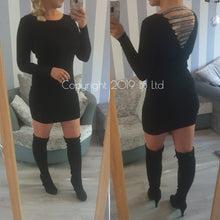 Savannah Diamante Jumper Dress - 7 colours