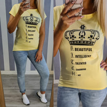 Queen Tee-5 Colours