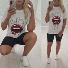Read My Lips Tee -2 Colours