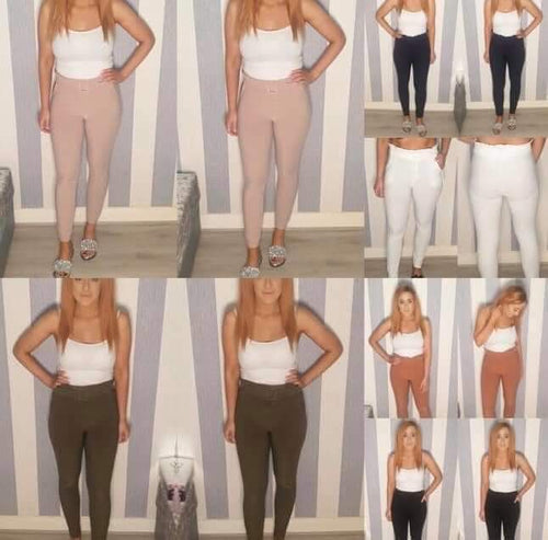 Georgia Frill Top Trousers-3 Colours
