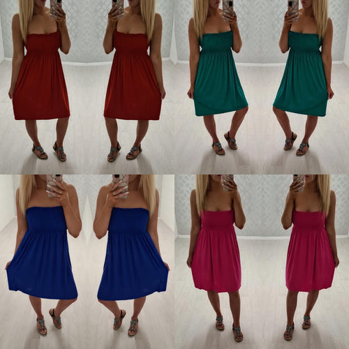 Zoe Summer Dress-8 Colours