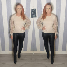 Lacey Sheer Sleeve Jumper