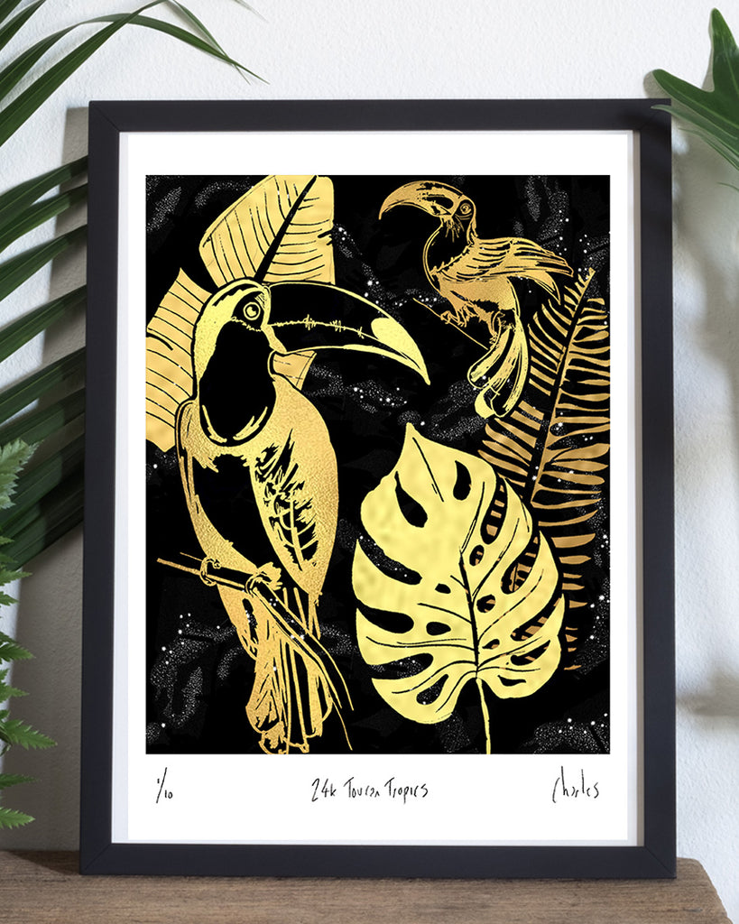 24k Toucan Tropics | Signed Editions