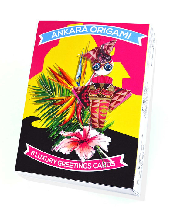 Ankara Origami | 6 card boxed set