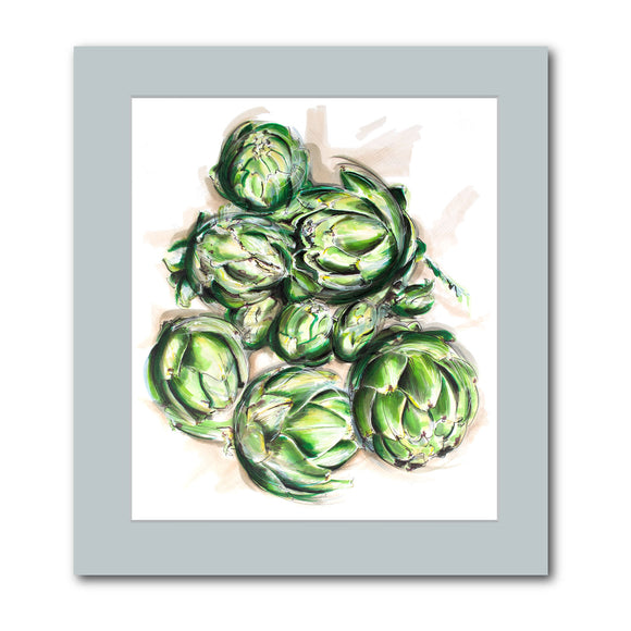 'Artichokes' original artwork
