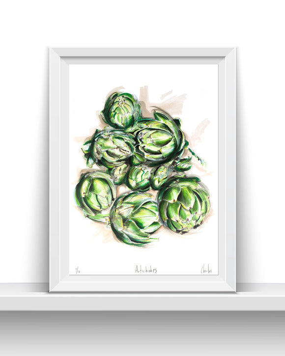 Artichokes | A3 Signed Edition of 10