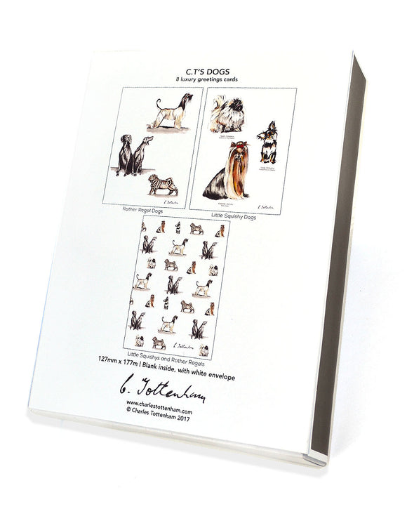C.T.'s Dogs | 8 card boxed set