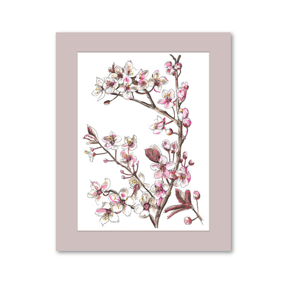 'Cherry Blossom' original artwork