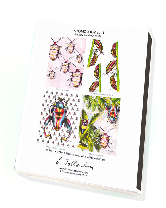 Entomology (vol.1) | 8 card boxed set