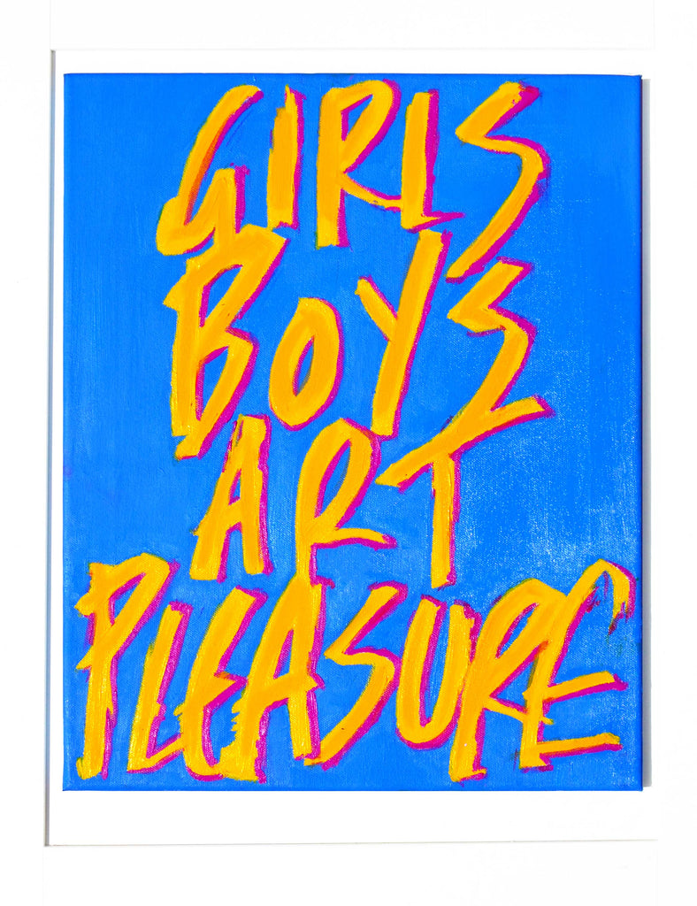 Girls Boys Art Pleasure