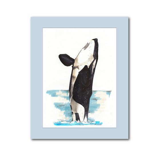 'Orca Whale' original artwork