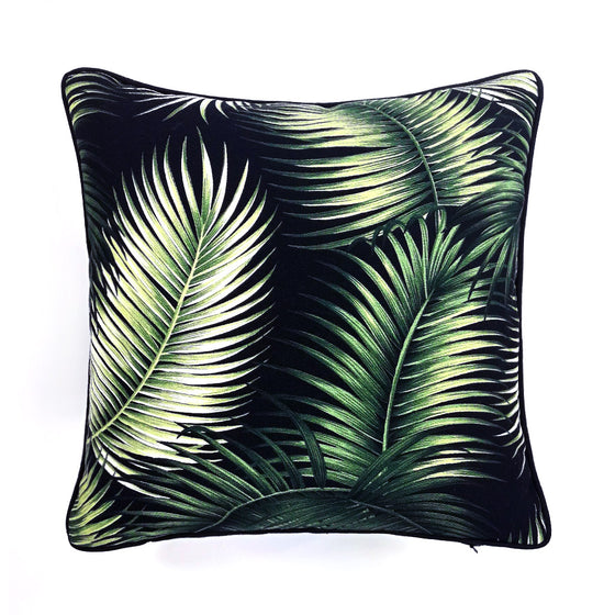 Seychelles Palms w/ Green Velvet back