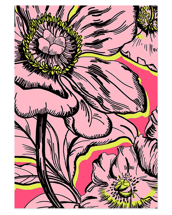Hot Pink Poppy fine art print