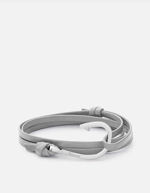 Miansai - Hook Leather, Silver