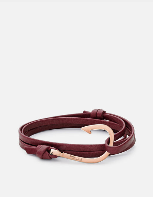 Miansai - Hook Leather, Rose