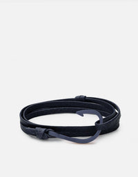 Miansai - Hook Leather, Navy Blue