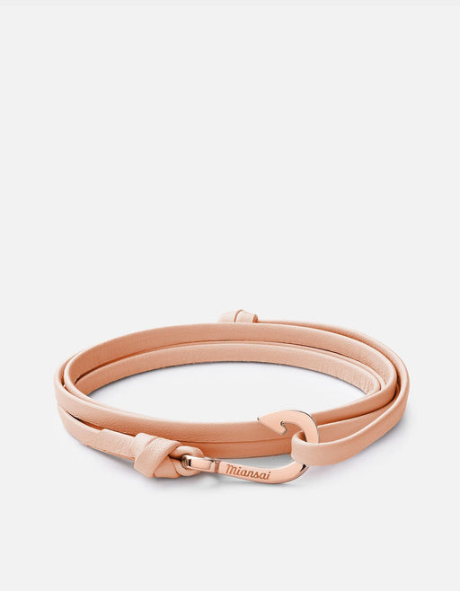 Miansai - Mini-Hook Leather, Rose