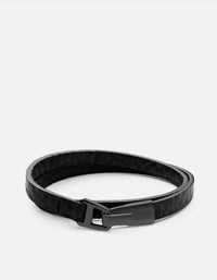 Moore Wrap, Matte Black | Men's Bracelets | Miansai