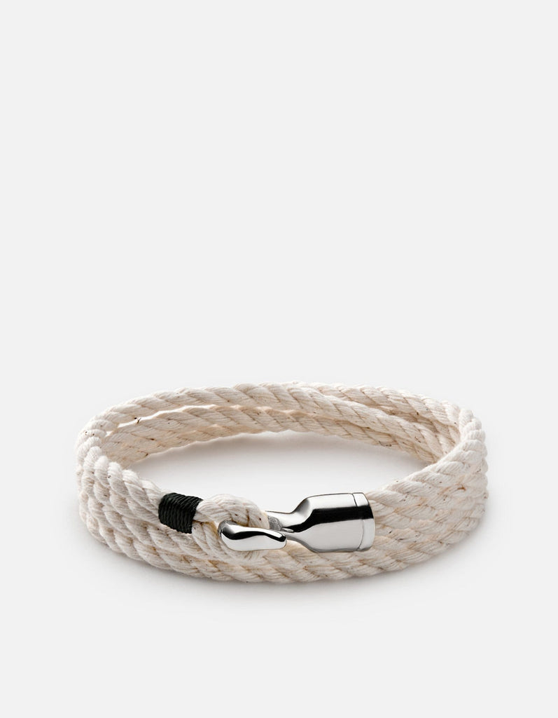 Miansai - Trice Rope, Sterling Silver