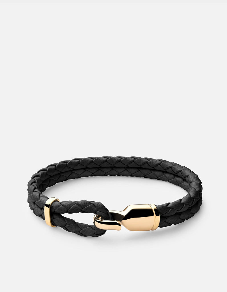 Single Trice Bracelet w/Sleeve, Gold | Women's Bracelets | Miansai