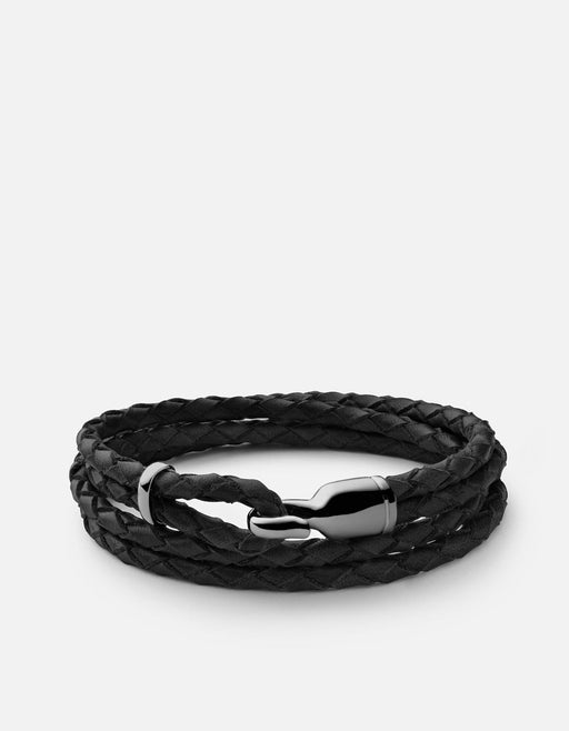 Trice, Black Rhodium | Men's Bracelets | Miansai