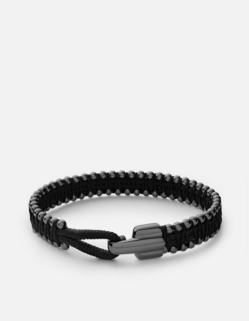 Miansai - Turner Rope Bracelet, Black Rhodium