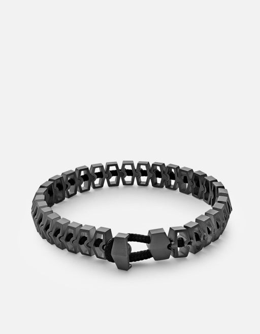 Miansai - Harbour Bracelet, Matte Black Rhodium