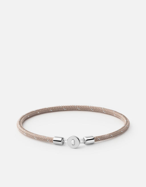 Nexus Rope Bracelet, Sterling Silver | Men's Bracelets | Miansai