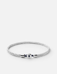 Miansai - Nexus Cable Bracelet, Sterling Silver