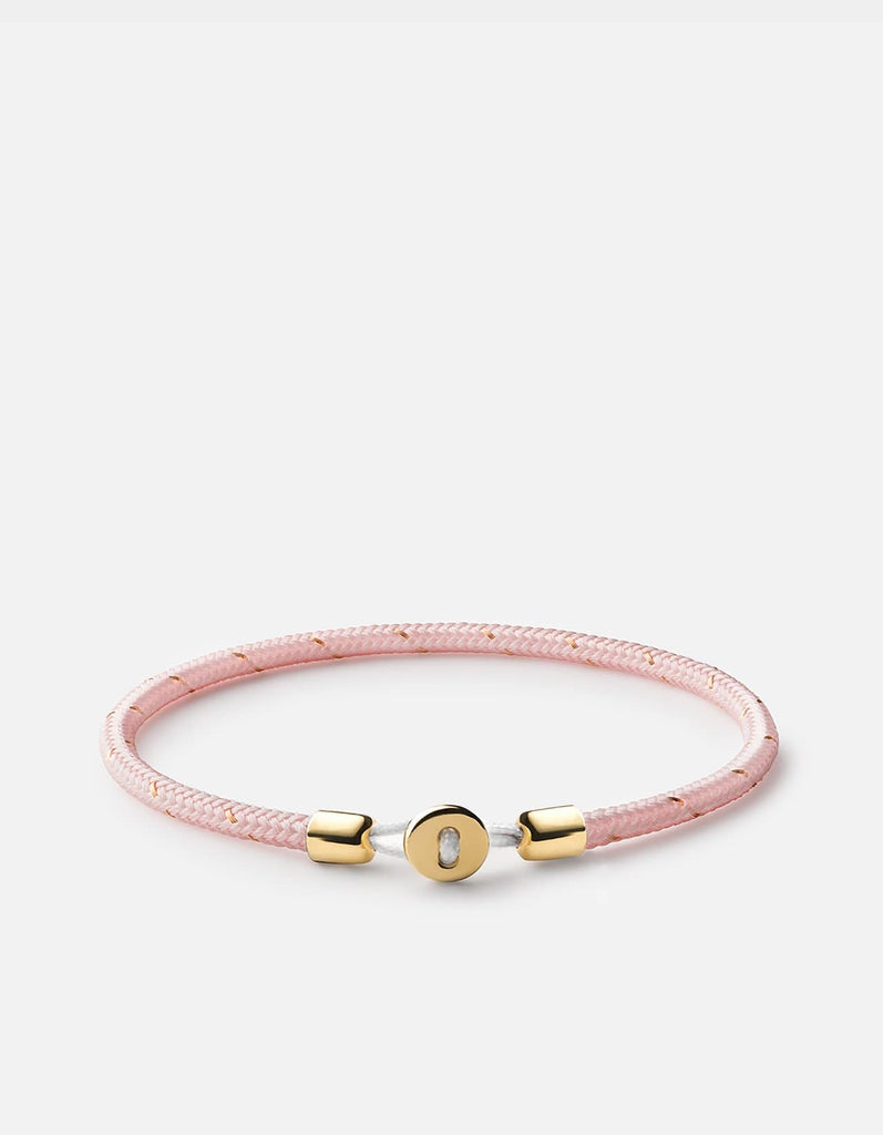 Nexus Rope Bracelet, Gold Vermeil, Polished | Women's Bracelets | Miansai