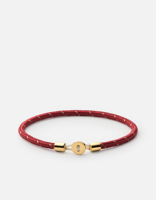 Nexus Rope Bracelet, Gold Vermeil, Polished | Men's Bracelets | Miansai