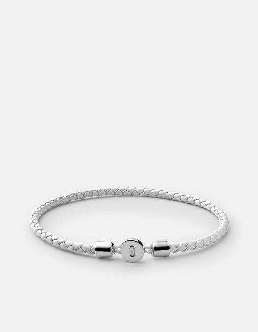Miansai - Nexus Leather Bracelet, Sterling Silver