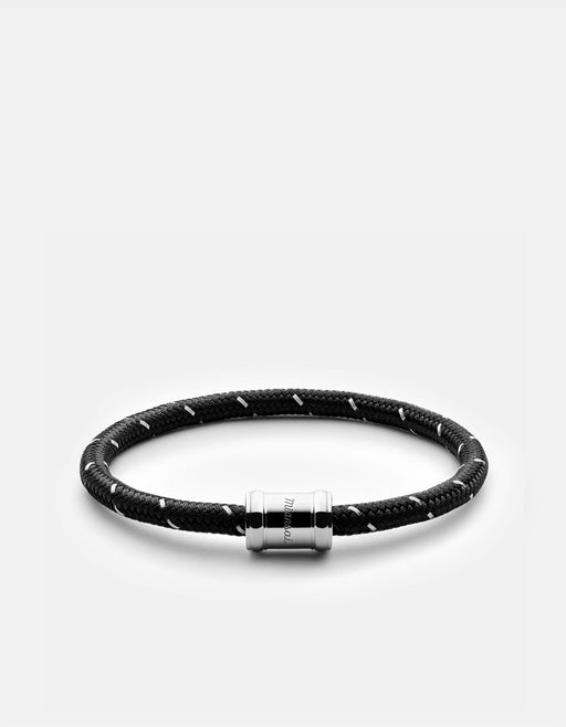 Mini Single Rope Casing, Silver | Men's Bracelets | Miansai