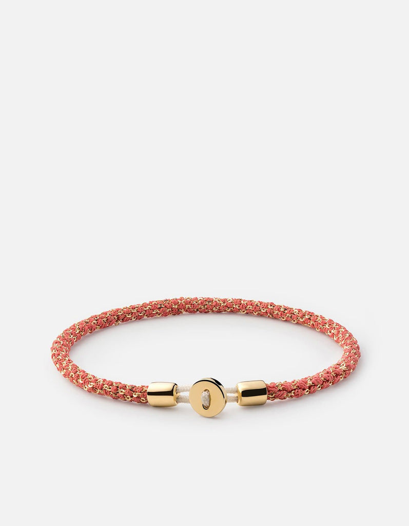 Nexus Woven Bracelet, Gold Vermeil, Polished | Women's Bracelets | Miansai