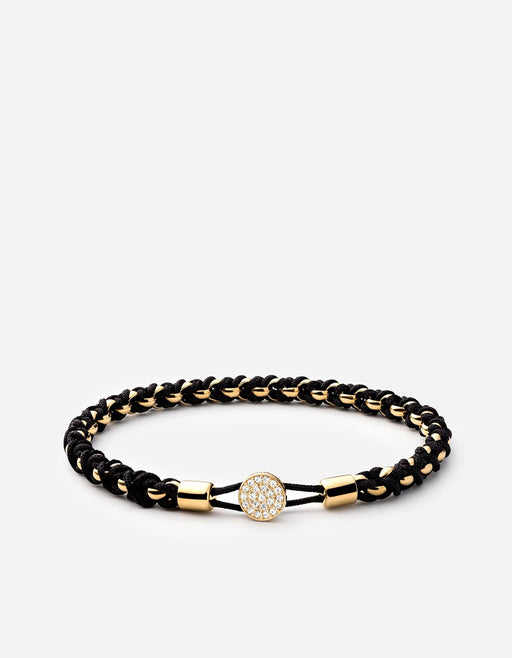 Nexus Chain Bracelet, 14k Gold Pavé | Women's Fine Collection | Miansai