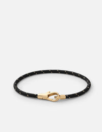 Knox Rope Bracelet, Gold Vermeil, Polished | Men's Bracelets | Miansai