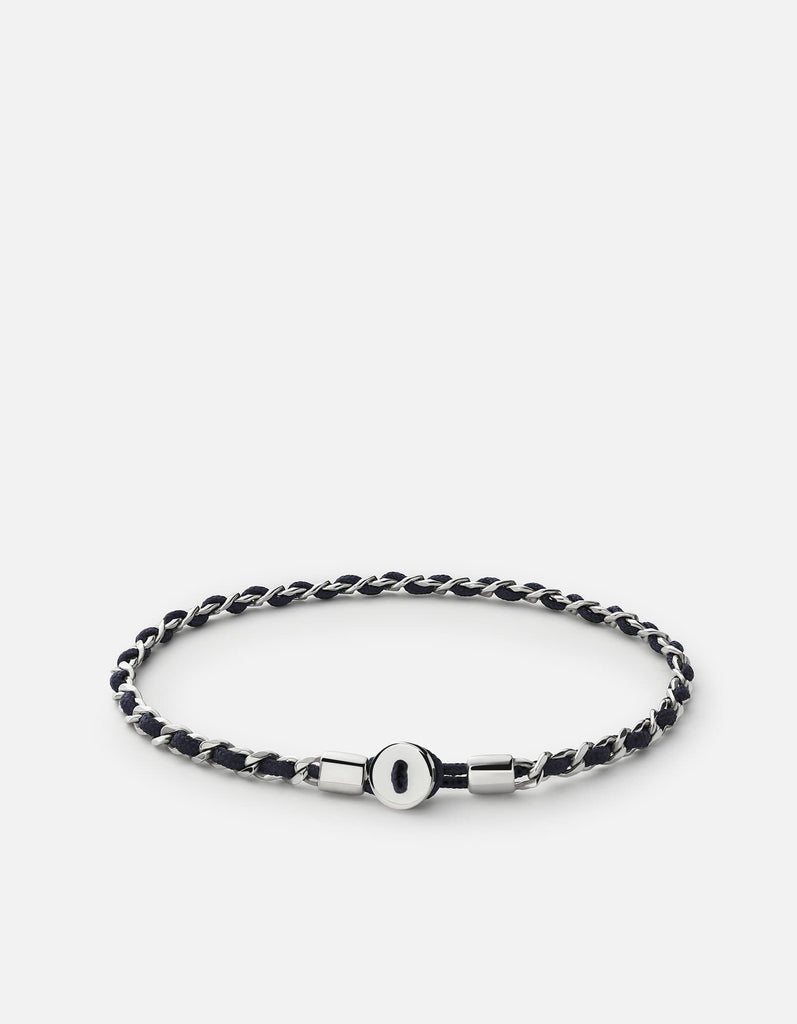 Nexus Link Bracelet, Sterling Silver, Polished | Men's Bracelets | Miansai