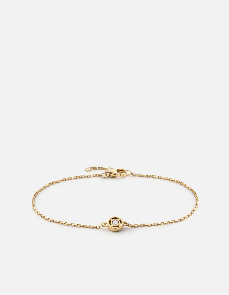 Miansai - Luna Bracelet, 14K Gold/Diamond