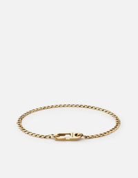Miansai - Annex Cuban Chain Bracelet I, Gold Vermeil, Polished