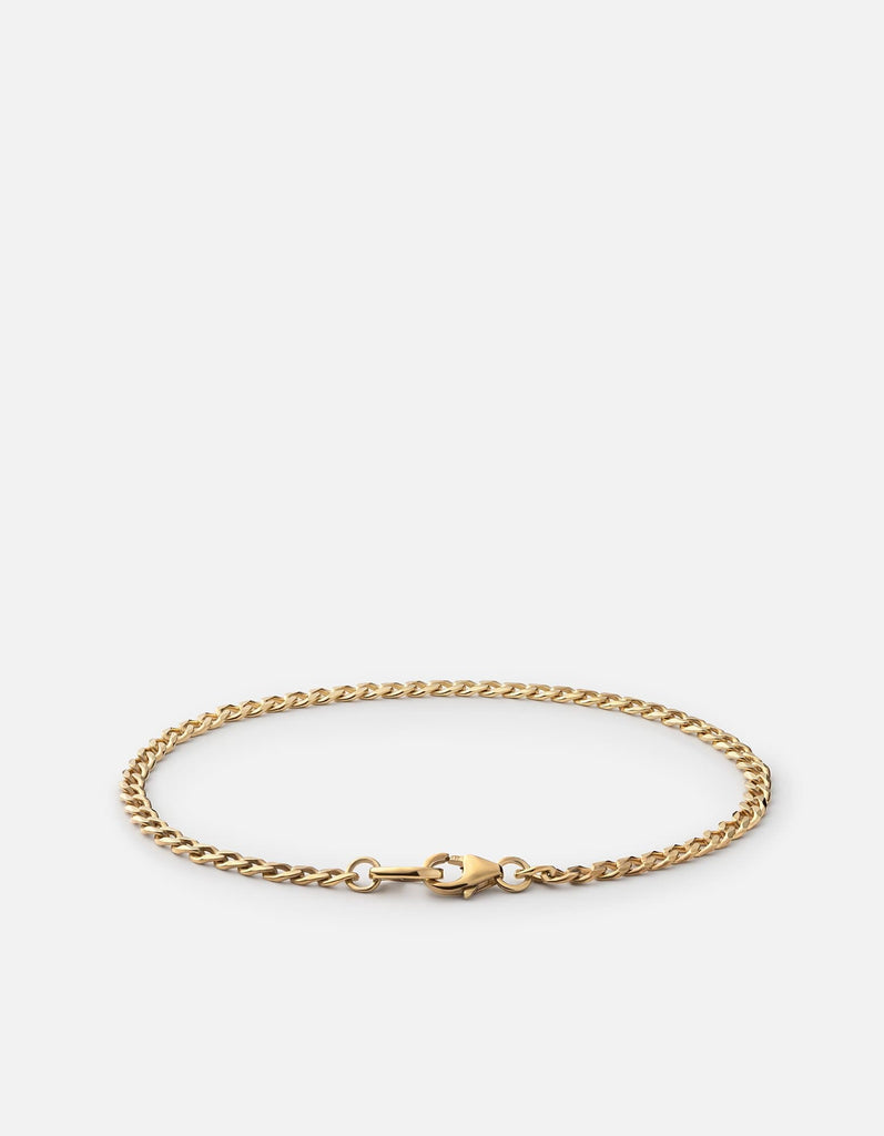 Mini Annex Cuban Chain Bracelet II, 14k Gold | Mommy & Me | Miansai