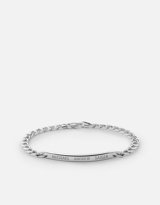 4mm ID Chain Bracelet, Sterling Silver - Miansai