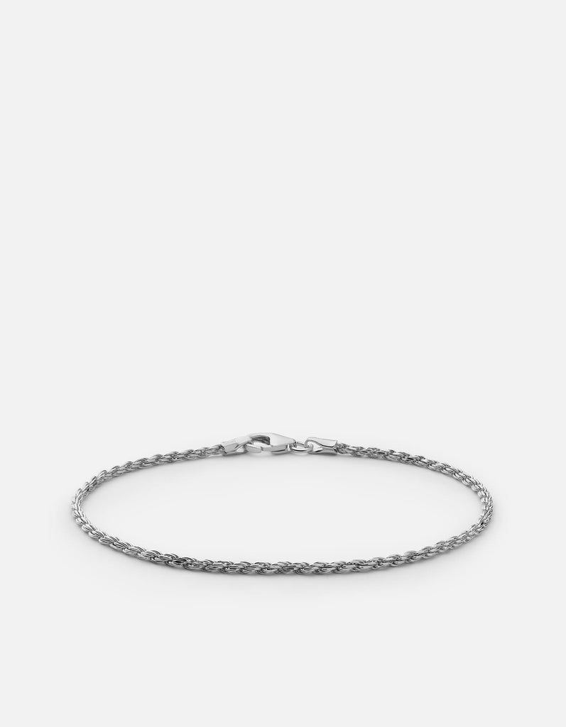 Rope Chain Bracelet, Sterling Silver - Miansai