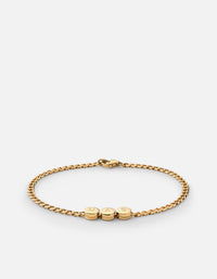 Type Chain Bracelet, Gold Vermeil - Miansai