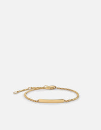 Mini ID Chain Bracelet, 14k Gold | Mommy & Me | Miansai