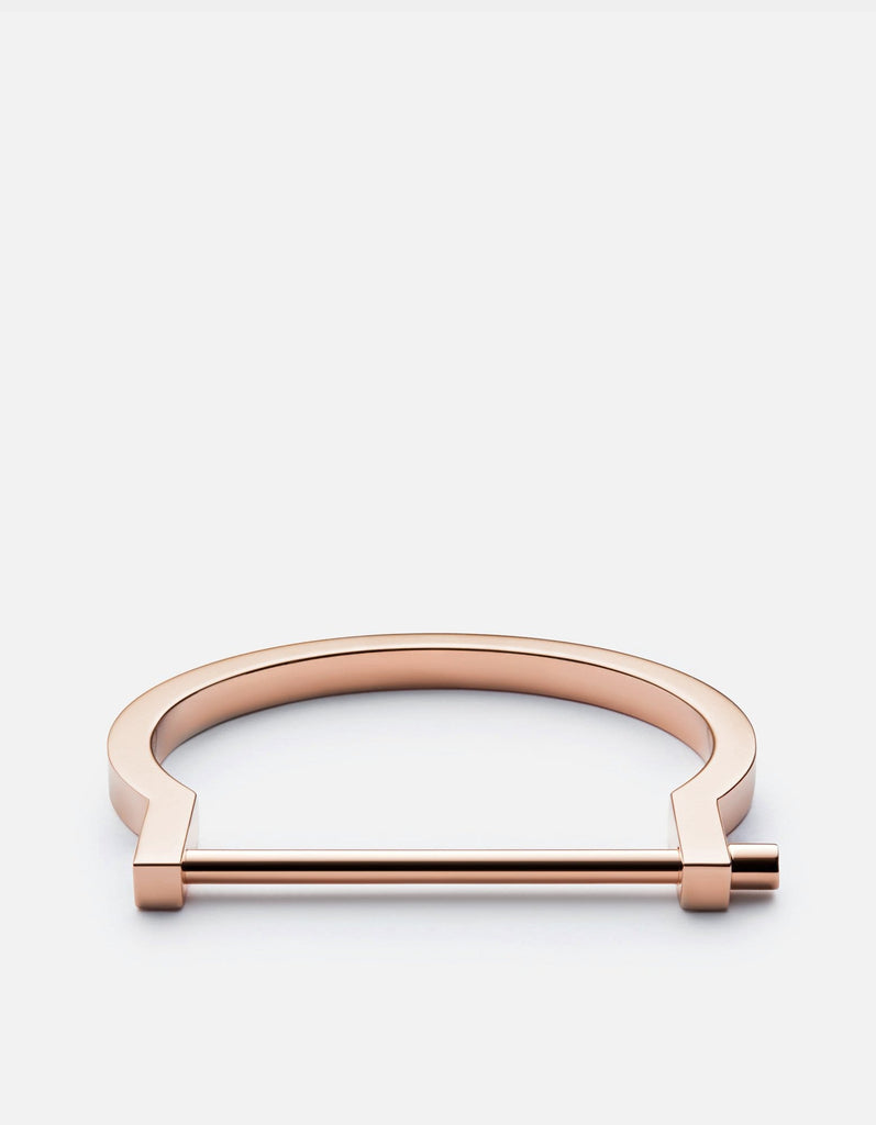 Miansai - Modern Screw Cuff, Rose