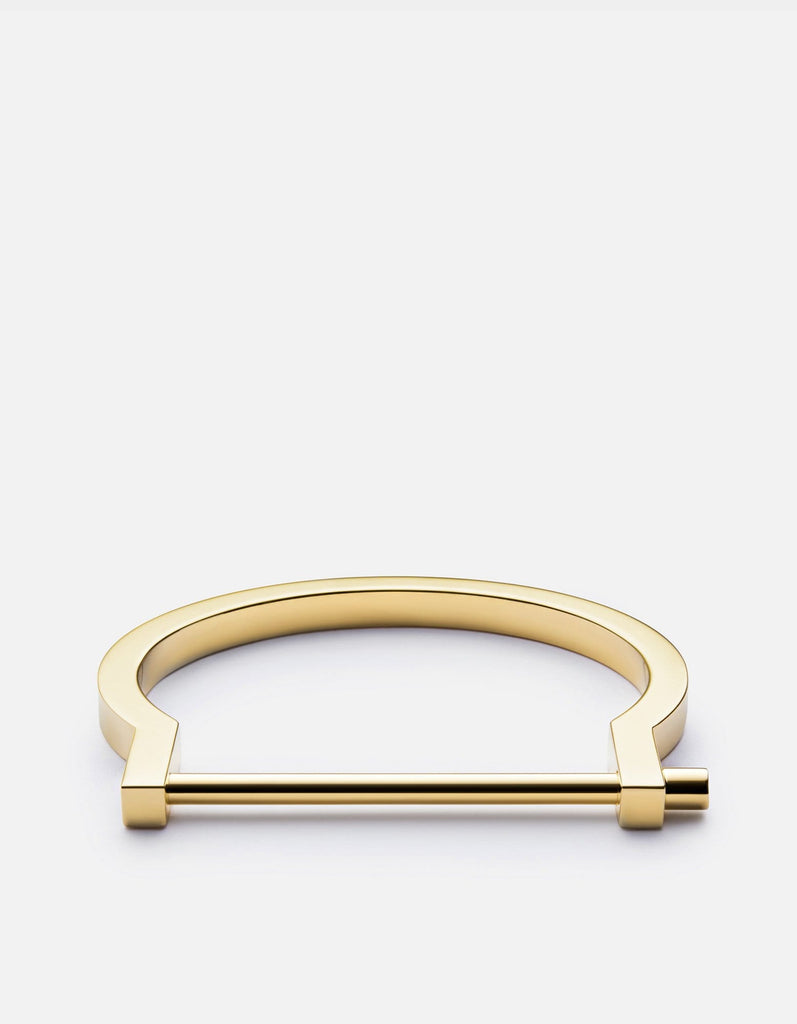 Miansai - Modern Screw Cuff, Gold