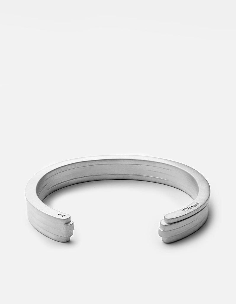 Miansai - Layered Cuff, Matte Sterling Silver